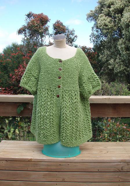 February Lady Sweater (modified)