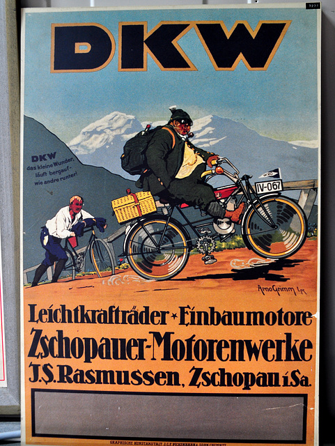Holiday 2009 – Advertisement for DKW engines