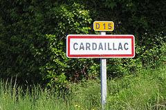 Cardaillac sur le GR6