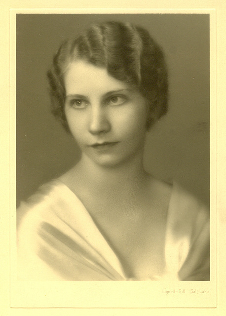 Found portrait, 1930s