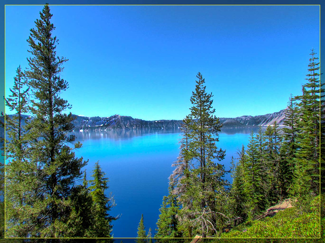 Crater Lake, First View 2011
