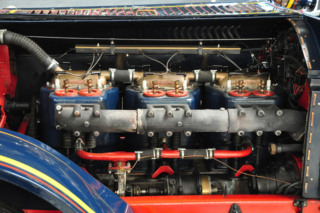 Holiday 2009 – Engine of the 1917 American La France 'Feuersalamander'