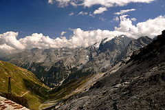 Holiday 2009 – View from the Stelvio Pass