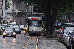 Antwerp tram 7021