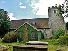 queenborough church, isle of sheppey, kent