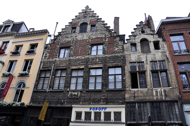 Old houses in Antwerp