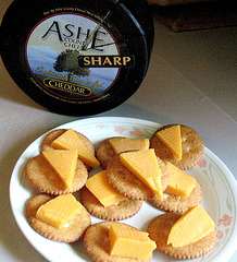 Yellow cheese ---- Snack attack !