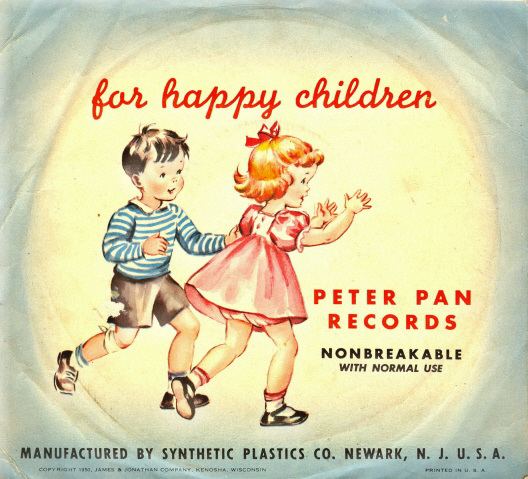 Peter Pan records for happy children