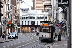 Antwerp tram 7033