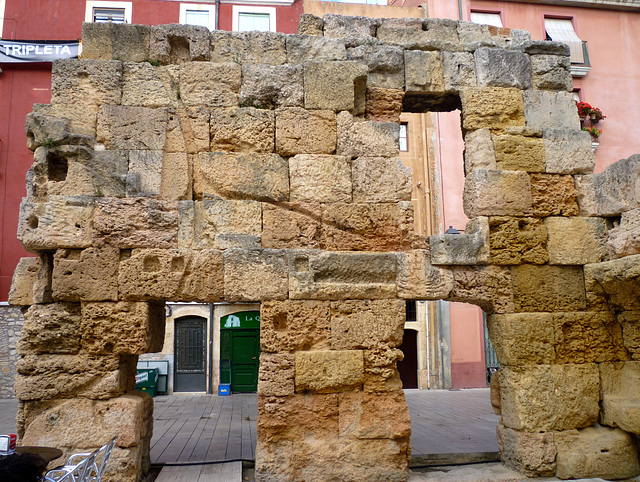 Wall of the Provincial Forum