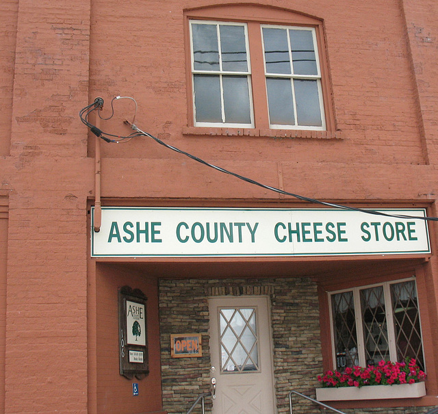 Ashe County Cheese Store..