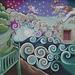 Sleepwalking (Detail) by Rose Johnson - The Jonquil Motel Mural
