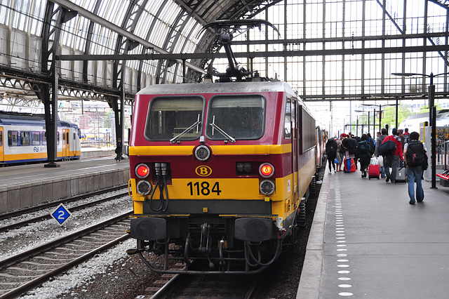 Amsterdam-Brussels Express at Amsterdam