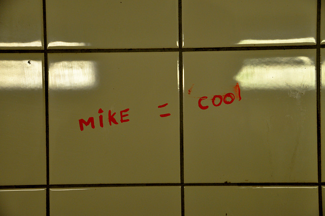 Mike = cool