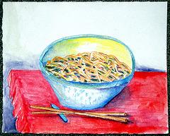 EDM challenge 198; Draw Some Noodles