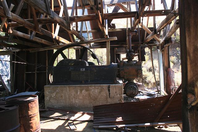 Engine Room, Homer Verne Mine