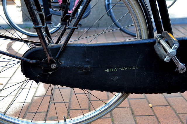 Old Batavus bike