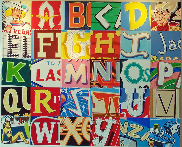 Paul Heath's Las Vegas Alphabet