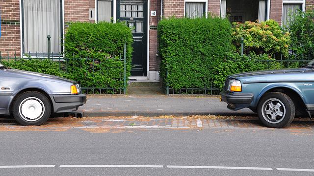 1991 Volvo 440 DL & 1987 Volvo 240 GLT