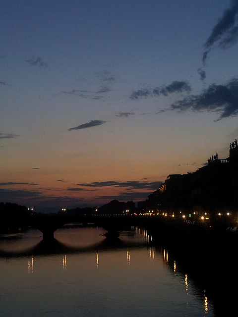Sunset in Florence 20130603 210904