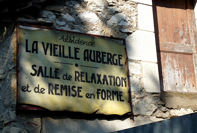 Souillac- Inviting Sign