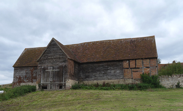 Old Barn Awaiting Renovation