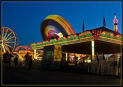 Carnival as the Night Darkens