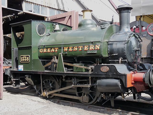 GWR Saddle Tank No. 1338