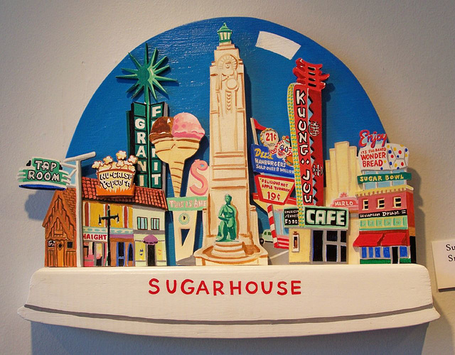 Paul Heath Sugar House snowglobe