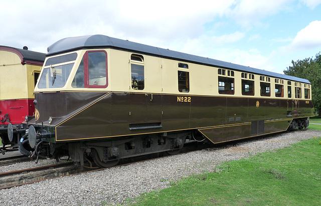 GWR Diesel Railcar No. 22