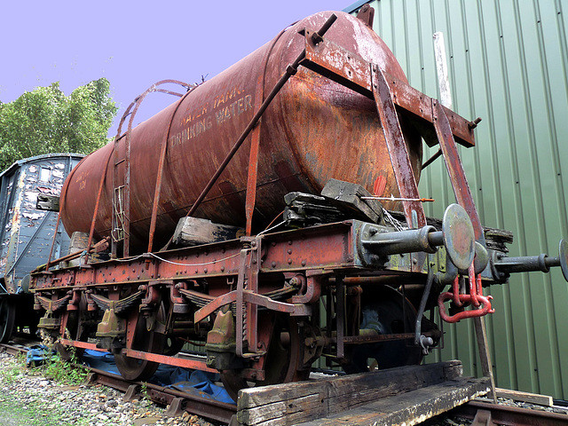 Drinking Water(!) Tank Wagon