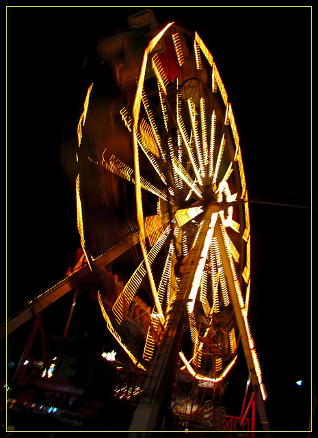 Ferris Wheel at Night 2
