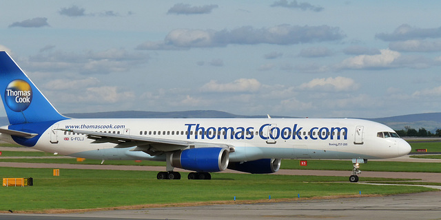 Boeing 757-270 G-FCLJ (Thomas Cook)