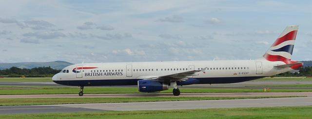 Airbus A321-231 G-EUXF (BA)