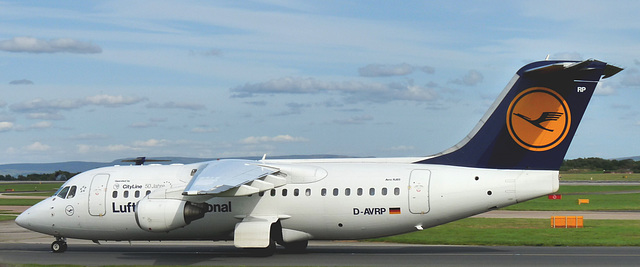 Avro RJ85 D-AVRP (Lufthansa)