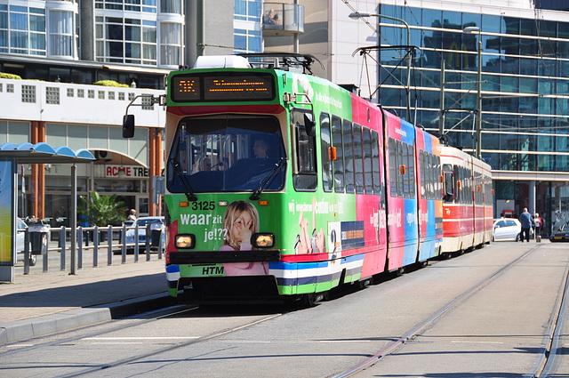 Tram 3125 of The Hague
