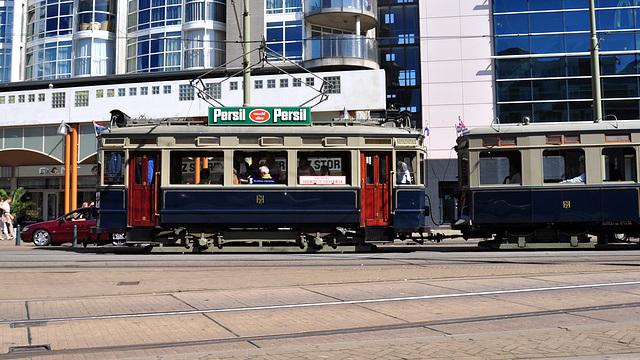 Old Blue Tram