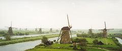 Nederland/the Netherlands - Kinderdijk