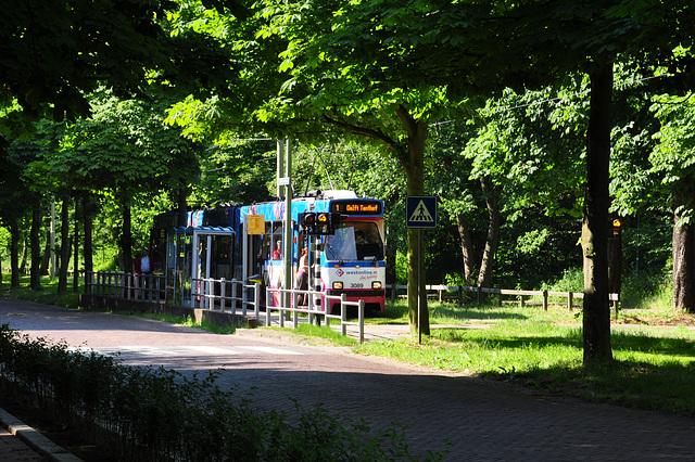 Tram 3089 on the Scheveningseweg (Scheveningen Road)