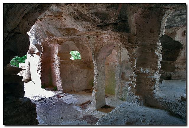 L'Abbaye de Saint-Roman