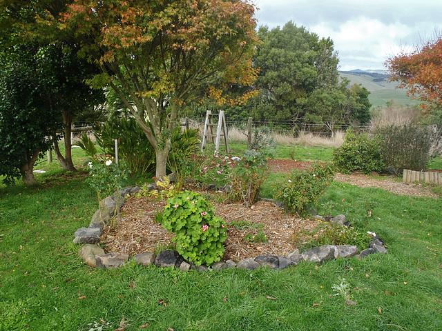 new bluestone garden edging