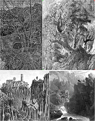 Henry Holiday's and M.C. Escher's allusions to John Martin