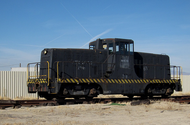 Lancaster, CA abandoned RR 1552a