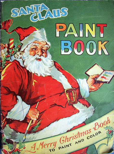 Merry Christmas Paint Book