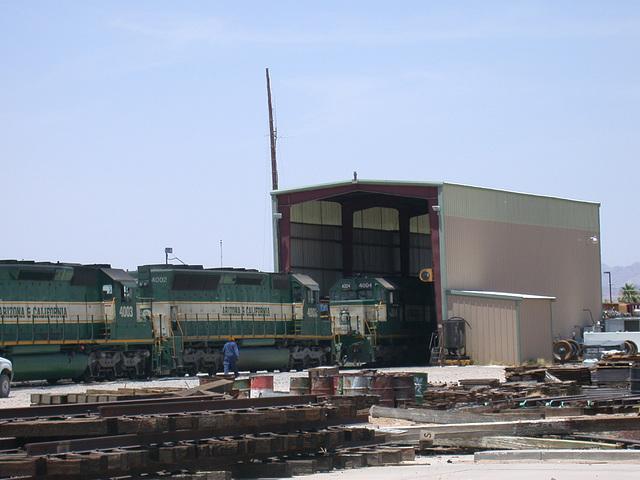 Parker, AZ: Arizona & California RR 3365