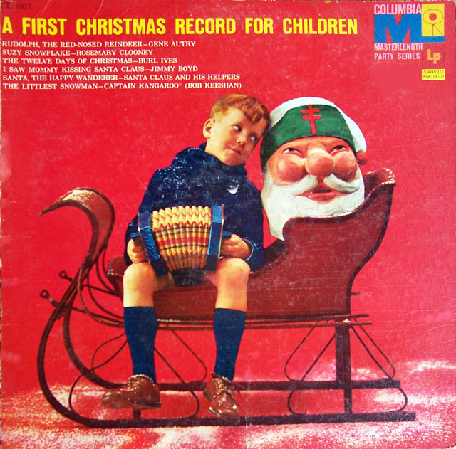 A First Christmas Record for Children (back cover)