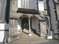 Görlitz - Eingang Kirche St.Peter und Paul