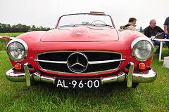 Oldtimershow Hoornsterzwaag 2009 – 1956 Mercedes-Benz 190 SL