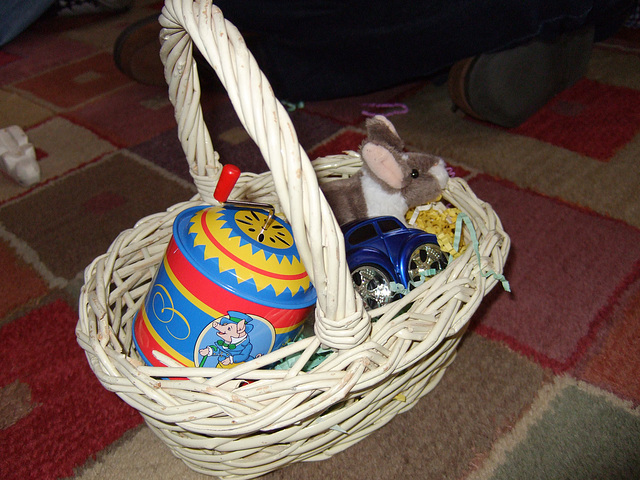 Henry's Easter Basket From Us