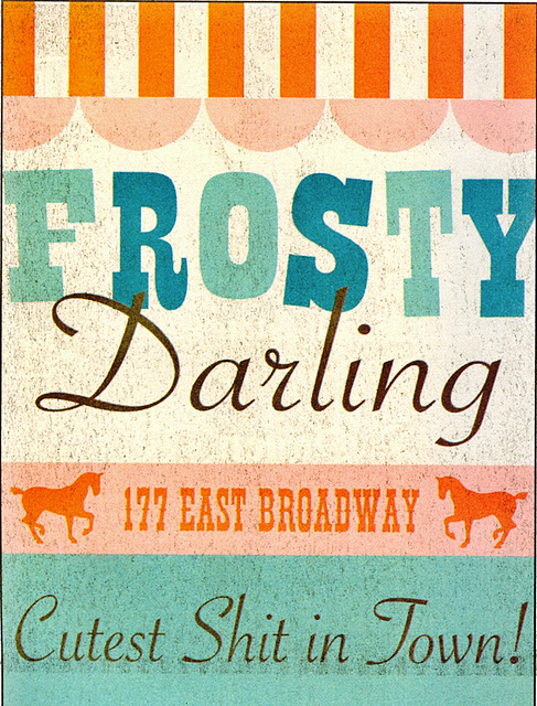 Frosty Darling